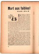 Libro  Fascicule N°9 Avril 1944 EDITORIAUX Radio Par Philippe HENRIOT Secrétaire D'état Propagande ( Pétain ) - Politique
