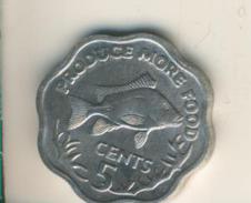 Seychellen V. 1977  5 Cents  (49124) - Seychellen