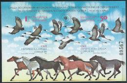 Bulgaria 1989 BF Nuovo** - Mi.206B  Yv.161ND - Blocks & Sheetlets