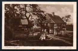 5632 - Alte Ansichtskarte - Lauter Bernsbach - Conradwiese - Franz Landgraf Zwickau - Zweigverein Lauter 32 - Bernsbach