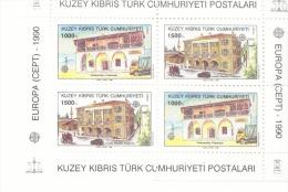 CEPT Postalische Einrichtungen Zypern Türk Block 8 Postfrisch MNH ** - Europa-CEPT