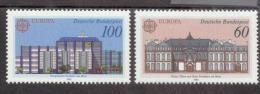 CEPT Postalische Einrichtungen Bundesrepublik Deutschland 1461-1462 Postfrisch MNH ** - 1990