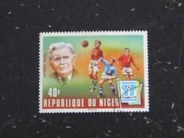 NIGER YT 417 OBLITERE - VITTORIO POZZO FOOTBALL ARGENTINA 78 - Niger (1960-...)