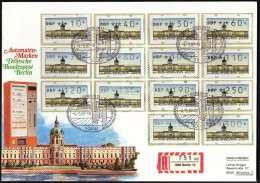 Germany Berlin 1987 / Machine Stamps ATM - Marcofilia - EMA ( Maquina De Huellas A Franquear)