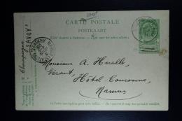 Belgium: 1910  Mi Nr SP 3 :1+2+3+8+9   Used  Postkarten Für Fahrschiffen Pakketboot Kaarten Paquetbot Cartes - Stamped Stationery