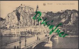DINANT, Vue Generale, Pont, Eglise Et Citadelle, Um 1916 - Dinant