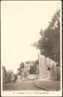 Loches, Indre Et Loire,porte Du Chateau, B F Paris N°32 Commentaires Sur Grandes Manoeuvres Du Sud Ouest 1908 - Frankrijk