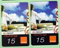 ORANGE REUNION *** RECHARGE Avec Sa CARTE JEU N°3 *** (A105-P10) - Frankrijk