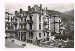 Montreux - Hotel Richemont - 1945 - Suisse - Schweiz - Timbre/Stamp - VD Vaud