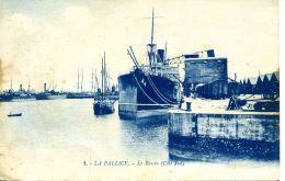 N°52015 -cpa La Pallice -le Bassin- - Commerce