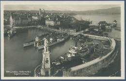 Lindau Am Bodensee Hafenmole Und Segelclubhaus Foto, Ungebraucht (AK963) - Lindau A. Bodensee