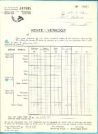 BRASSERIE - BROUWERIJ ARTOIS LEUVEN 1958  (F326) - Alimentaire