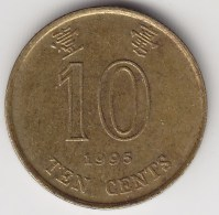@Y@    Hong Kong   10  Cents  1995    (3747) - Hong Kong