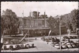 Germany 1954 Karlsruhe I. B. - Schwarzwaldhalle / Cars, VW Beetle - Karlsruhe