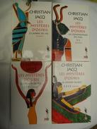 Les Mystère D'Osiris Complet ( 4 Volumes ) - Christian Jacq - Históricos