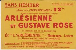 Buvard Arlésienne Et Gustave Rose Montrouge Lorient - Food