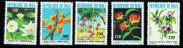 1982  Fleurs  Série Complète   ** - Mali (1959-...)