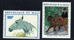 1967  Tableaux De Toulouse-Lautrec - Tête De Cheval, Attelage  - Poste Aérienne  ** - Mali (1959-...)