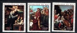 1970  Tableaux Religieux: Nativité, St Jean Baptiste, Adoration Des Rois - Poste Aérienne  ** - Mali (1959-...)