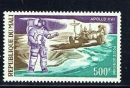 1972  Apollo 16 Mission Sur La Lune - Espace  - - Poste Aérienne  ** - Mali (1959-...)