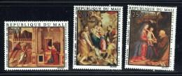1973  Tableaux Religieux De L'école Italienne: Annonciation, Madonne, Fuite En Egypte - Poste Aérienne  ** - Mali (1959-...)