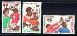 1978  Championnat Du Monde De Football, 250fr Avec Erreur «REPUPLIQUE» - Poste Aérienne  ** - Mali (1959-...)