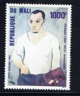 1981  Picasso «Autoportrait»    - Poste Aérienne  ** - Mali (1959-...)
