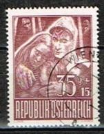 AUTRICHE /Oblitérés/Used/1947 - Au Profit Des Prisonniers De Guerre - 1945-.... 2ème République