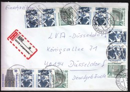 Germany Langerwehe 1994 / Airport Frankfurt / R Letter - [7] Repubblica Federale