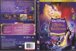 Dvd Zone 2 La Belle Au Bois Dormant Édition DeLuxe Platinum 2 Disques Walt Disney - Animation