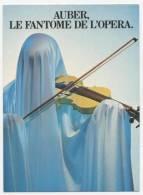 "PUBLICITE    L 8    ""  LE BUS / LE METRO   "" ED.  NUGERON  1982     CPM 10 X 15  NEUVE - Werbepostkarten"