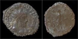 Tetricus I Billon Antoninianus Salus Standing Left - 5. The Military Crisis (235 AD To 284 AD)