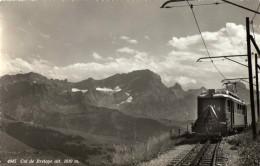 CARTE PHOTO  Col De Bretaye Train Non Ecrite - VD Vaud