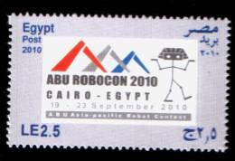EGYPT / 2010 / ABU  ASIA - PACIFIC ROBOT CONTEST / MNH / VF . - Nuovi