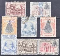 COLUMBIA  629-32, C263-6  (o)   RELIGION - Colombia