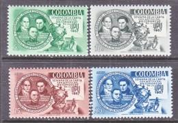 COLUMBIA  676-7, C 302-3   *  U.P.U. - Colombia