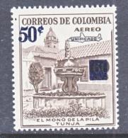 COLUMBIA  C 321   **  MONKEY  FOUNTAIN - Colombia
