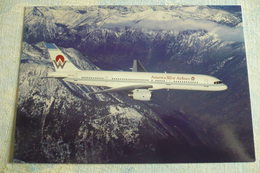 AIRLINE ISSUE / CARTE COMPAGNIE     AMERICAN WEST AIRLINES   B 757 200 - 1946-....: Ere Moderne