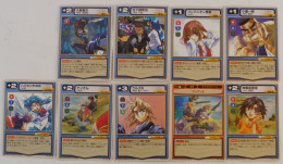Full Metal Panic ! Card Mission : 9 Japanese Trading Cards - Trading Cards