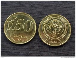 Kyrgyzstan Kirghizistan 50 Tyiyn 2008 KM13 UNC COIN ASIA CURRENCY - Kirgizië