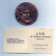Italia - 1998 - Lucca - Medaglia Celebrativa Del 46° Raduno Nazionale Bersaglieri - (MW219) - Altri