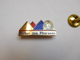 Beau Pin´s En EGF , Rallye Des Pharaons , Pyramide , Signé Démons & Merveilles - Rallye