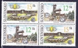 ** Slovaquie 2001 Mi 391-2 ZW, (MNH) - Slovakia