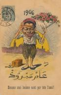 Illustrateur ASSUS - 1906 - Bounne Anni Bounne Santi Por Tote L'anni ! - Astus