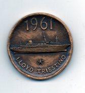 Italia - 1836/1961 - Medaglia LLOYD Triestino - MW229) - Autres