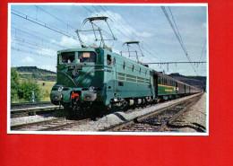 Train - Locomotive BB 9004 - 1500  - Cliché Vie Du Rail - Irlande - Trains