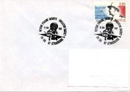 STRASBOURG (BAS RHIN) : AVIATION Oblitération Temporaire 1991 BASE AERIENNE 124  RETOUR GUERRE DU GOLFE Opération DAGUET - History