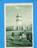 DJIBOUTI-Enfants Jouant Sur L'esplanade De La Mosquée -années1910-20- - Gibuti