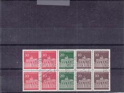 République Fédérale - Timbres Du Carnet - Oblitération De 1972 - Markenheftchen