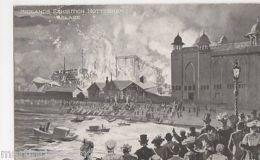 Midlands Exhibition Nottingham Ablaze Postcard, B432 - Expositions
